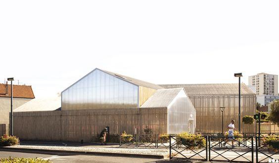 Soa architectes paris projets cr che saint gratien for Algeco maison individuelle