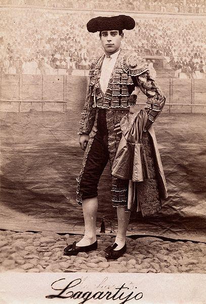 "File:A bullfighter, Rafael Molina Sanchez ""Lagartijo"", posing in Wellcome V0048529EL.jpg"