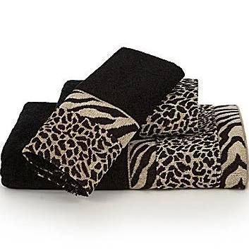 animal print bath towels - Google Search