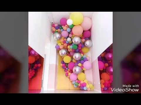 Incredible Creative Designs Of Balloons لازم تشوف الفديو تصميمات خيالية لتنسيق البوالين Youtube Birthday