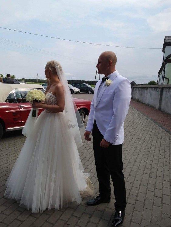 Suknie Suknia Slubna Z Salonu Madonna Warszawa Kolor Cappuccino 2 000 00zl Wedding Dresses Dresses Wedding