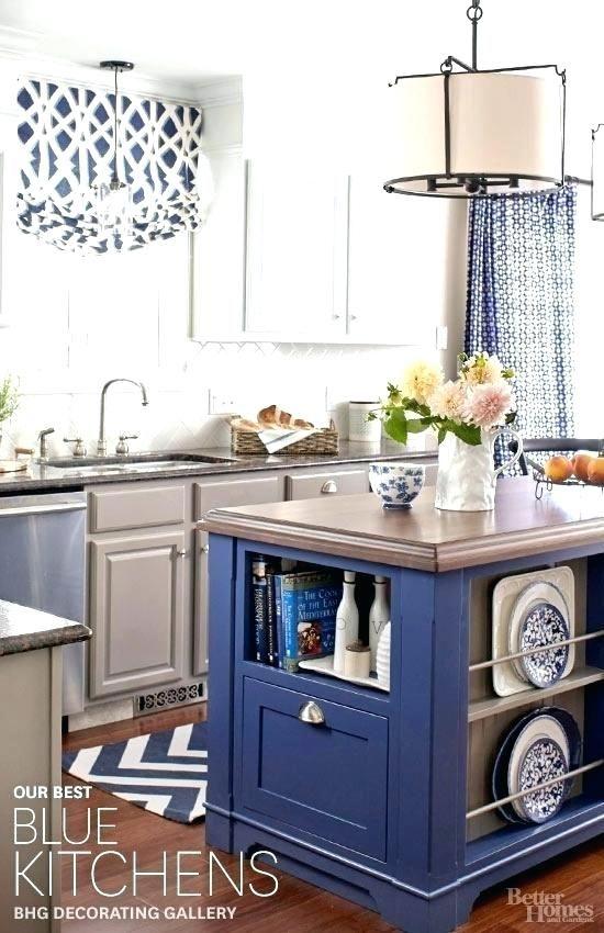 Navy Blue Kitchen Cabinets Ideas Paint Accessories Decor