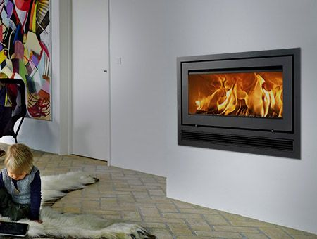Lotus H470 W Air Insert wood burning stove