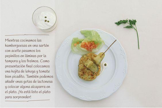 paso 4: Hamburguesa de Trucha del Cinca con alcaparras de Ballobar.  http://www.recetasoidococina.es/hamburguesa-de-trucha/
