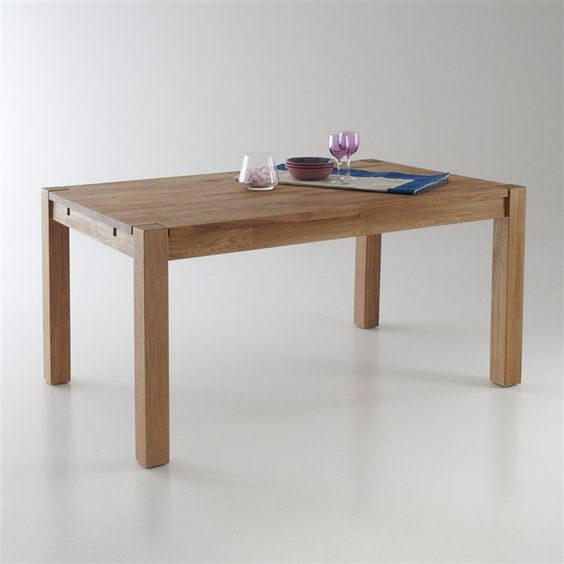 Pinterest le catalogue d 39 id es for Table rallonge chene