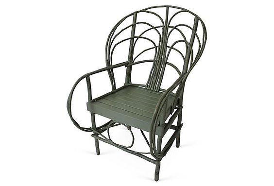 Seneca Chair, Blue on OneKingsLane.com