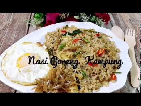 Nasi Goreng Kampung Sedap Giler Ala Gerai Tomyam Youtube Nasi Goreng Kampung Nasi Goreng Recipes
