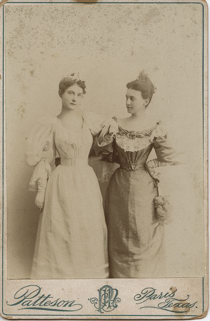 Lala Williams and Ina - ca.1890