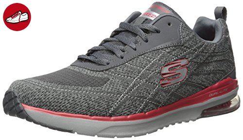 Air Extreme-Natson, Chaussures de Running Homme, Noir (Black), 41.5 EUSkechers