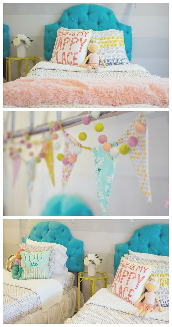 Little Girls Bedroom Ideas   Fun room makeover using Beddy