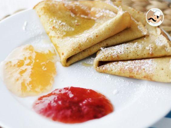 Receita Sobremesa : Crepes sem glúten e sem lactose de PetitChef_PT