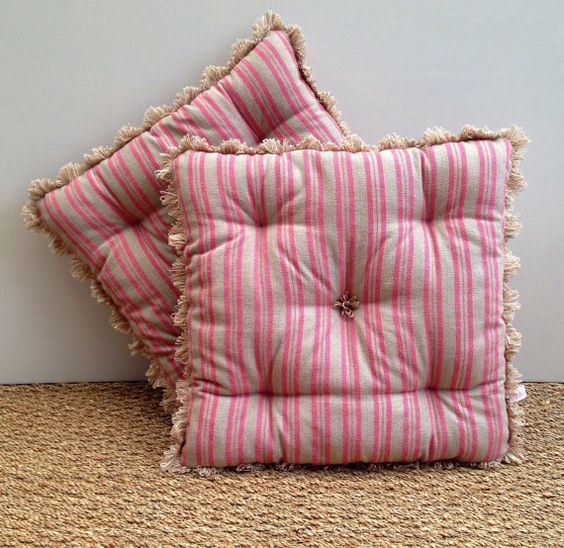Indoor Outdoor Cushion Seat Chair Bench Pad by MabelandMeEtsyShop