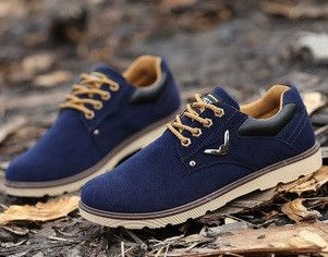 New arrival sude boots shoes for men ankle boots casual shoes canvas fashion solid round toe martin snow boots shoes man