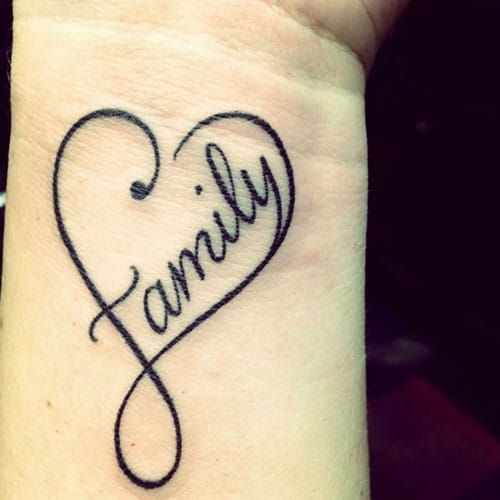 51 Cute Heart Tattoo Designs You Will Love 2020 Guide Family Heart Tattoos Heart Tattoo Designs Small Heart Tattoos