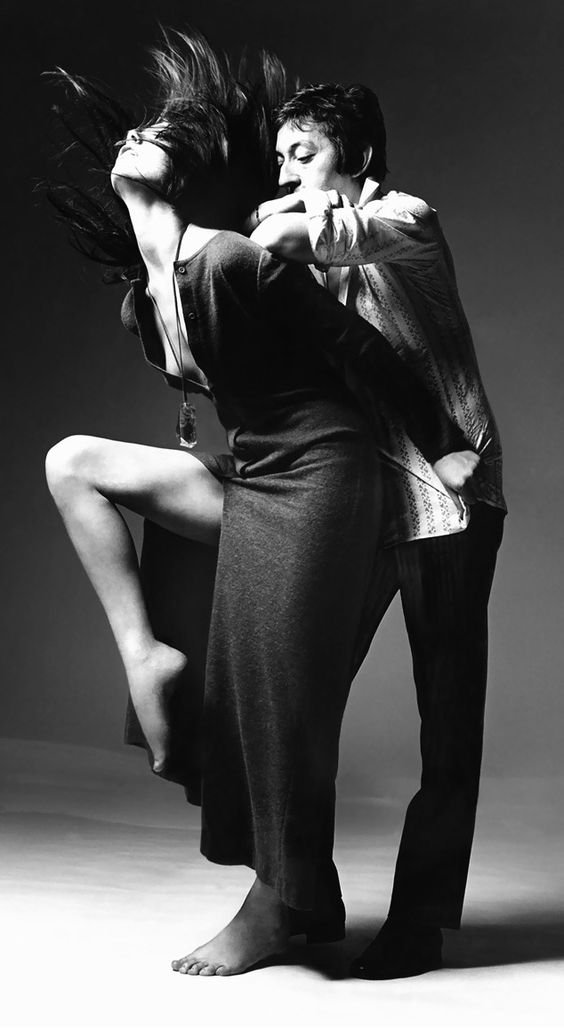 Jane e Serge Vogue Photo Bert Stern – New York, USA 1970