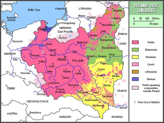 Map Of Poland Throughout History Essay - image 2