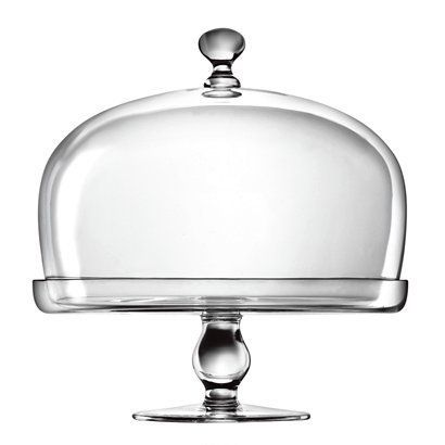 Luigi Bormioli Michelangelo Cake Plate with Dome.Opens in a new window