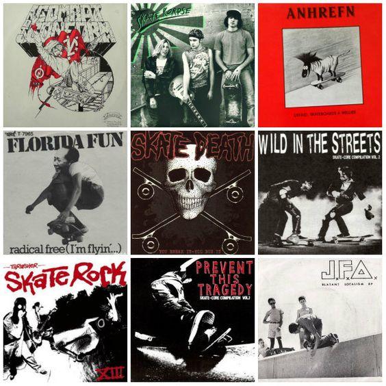 #Skaturday: Skates en portadas de disco