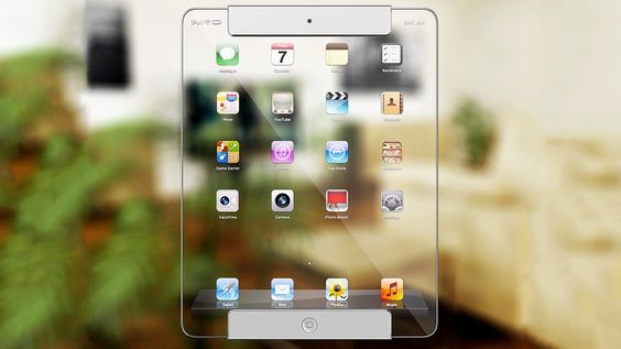 drool gradgets: Transparent/Clear iPad by Ricardo Luis Monteiro Afonso via Mashable 2013-01