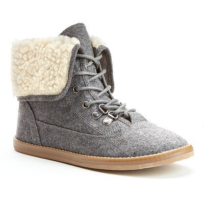 Unleashed by Rocket Dog Raya Women's Fold-Over Ankle Boots | On-My ...