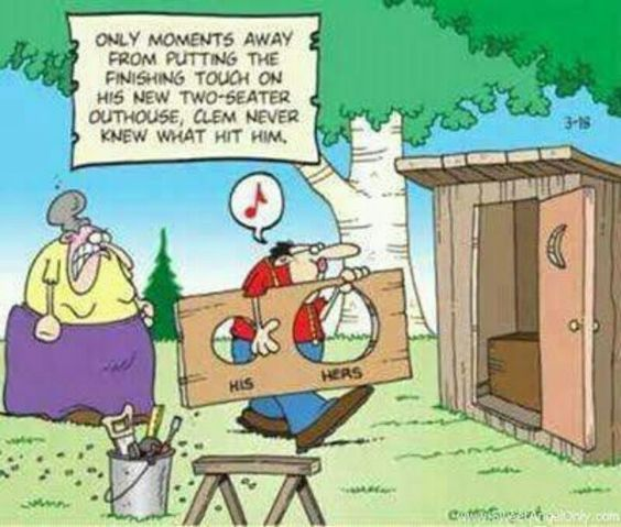 Rut rho!: Funny Things, Seater Outhouse, Funny Quotes Jokes, Funny Shit, Funny Pictures, Funny Cartoons, Funny Stuff, Dead Man, Cartoons Jokes Funnies