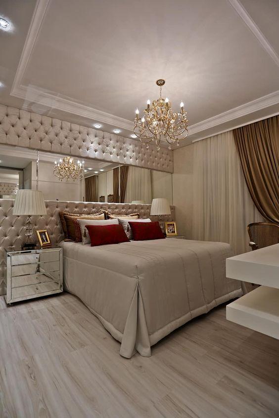 غرف نوم ملكية لعشاق الفخامة 56cffc1d5f88844e220a019c66756311