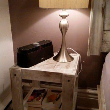 Reclaimed Wood & Pallet Wood Night Table