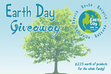 Earth Day Giveaway - Win a gift basket full of eco-friendly and Fair Trade items from Bella Luna Toys,  Moksa Organics, Divine Chocolats, and more!