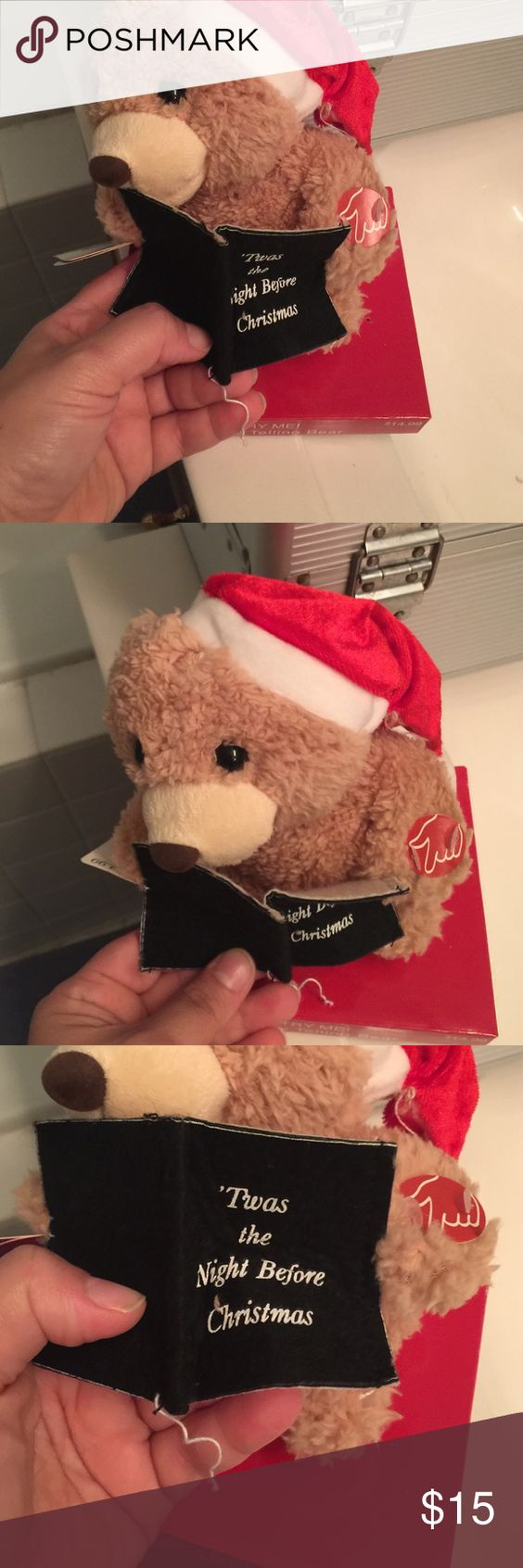 New story telling bear night before Christmas Bundle up and save Accessories