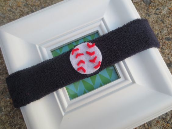 Sports Baby Sweatbands by BandBinas on Etsy, $10.00