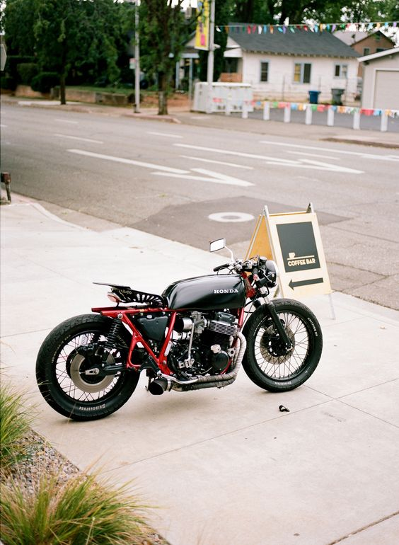 Tractor Seat Motorcycle : Running a cafe racer style pinterest