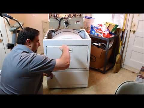 How To Take Apart Kenmore 90 Series Or Elite Dryer Youtube