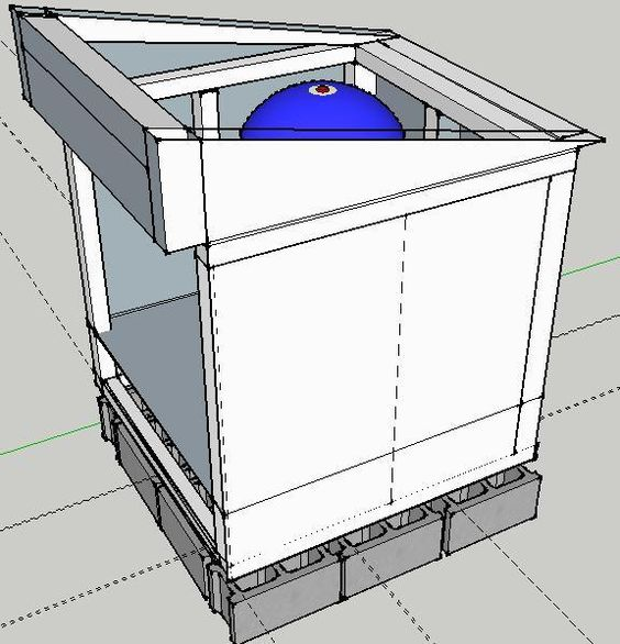Hinged Roof Pump House Pinterest