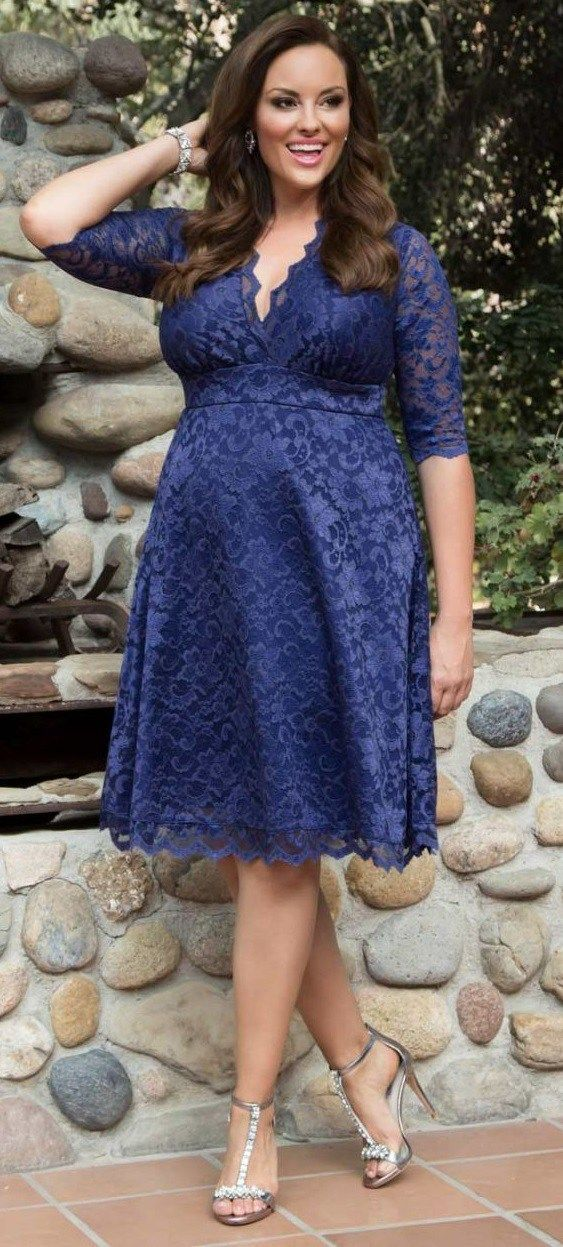 39 Plus Size Spring Wedding Guest Dresses {with Sleeves ...