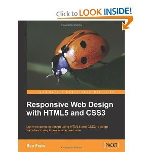 "Responsive Web Design with HTML5 and CSS3. The book will teach you how to design websites according to the new ""responsive design"" methodology, allowing a website to display beautifully on every screen size. Follow along, building and enhancing a responsive web design with HTML5 and CSS3. The book provides a practical understanding of these new technologies and techniques that are set to be the future of frontend web development."