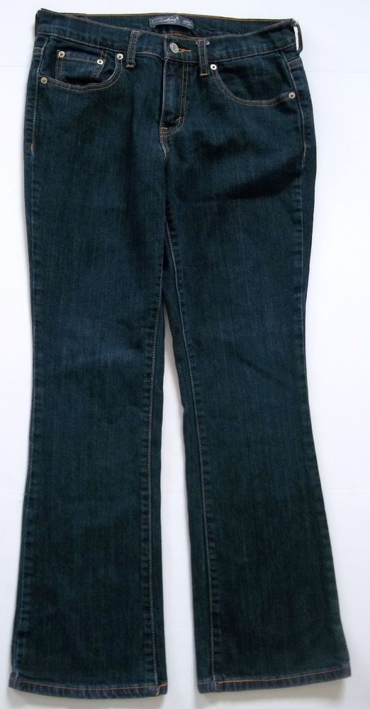 Levi's 515 Dark Wash Bootcut Jeans-Womens-Sz 4 S/C EXCELLENT ...