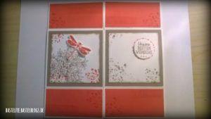 Hochzeit Unendlichkeitskarte Melonensorbet Weiß Taupe awesomely artistic