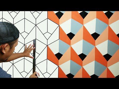 3d Wall Painting Creative Design 3d Optical Illusion Ide Bisnis Cat Tembok Kreatif 3d Youtube 3d Wall Painting Wall Painting 3d Optical Illusions