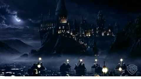 Hogwarts witchcraft and castles on pinterest - Hogwarts at night wallpaper ...
