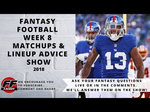 Don T Set Your Fantasyfootball Lineups Without Tuning Into The
