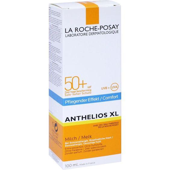 LA ROCHE-POSAY Anthelios 50+ Sonnenschutz Milch - R:   Packungsinhalt: 100 ml Milch PZN: 09511216 Hersteller: L Oreal Deutschland GmbH…