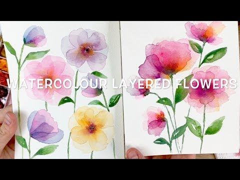 All Things Floral Watercolor Flowers Watercolor Art Watercolor
