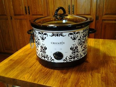 Is it silly to get giddy over a kitchen appliance? I think not! I love my new crock pot!