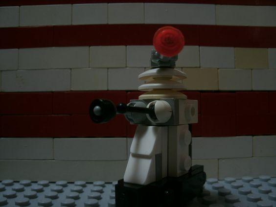 Lego dalek by starwars98 on DeviantArt