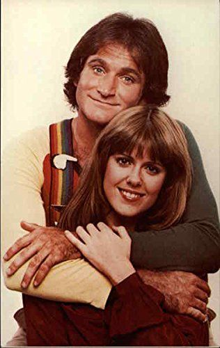 Mork & Mindy Movie and Television Advertising Original Vintage Postcard