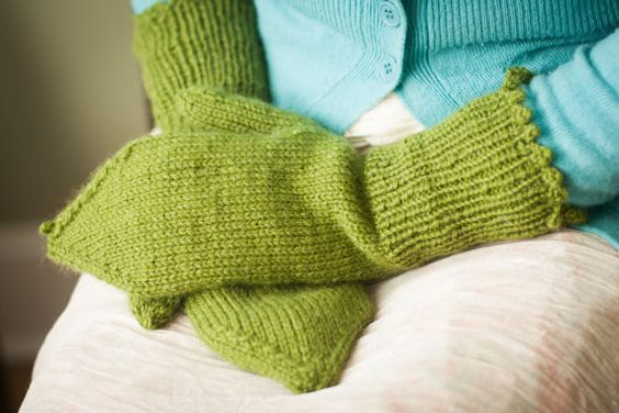 Handknit woolblend mittens. Made to order. All by SewKnitCreate, $24.95