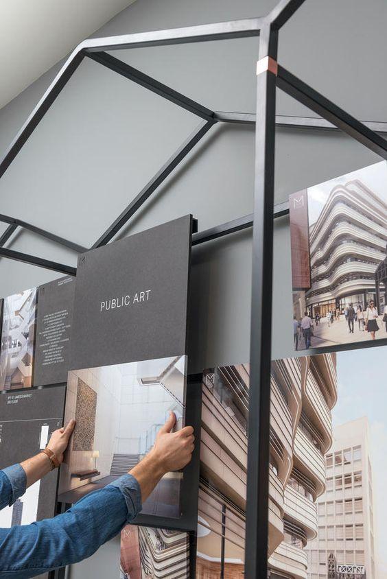St James's Market. Re-establishing a lost market – dn&co. Display exhibition