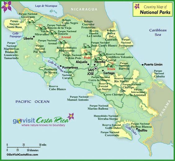 #EcoEfeméride en Costa Rica: 24 de agosto, Día de los Parques Nacionales.