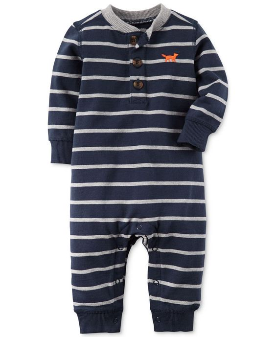 Carter's Baby Boys' Stripe Coverall