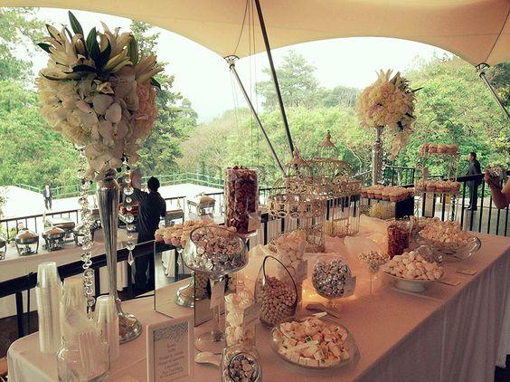 Cake Design Guatemala : Destination Weddings dessert tables candy stations cakes ...